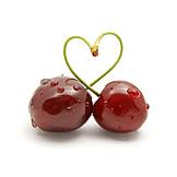 Heart, Heart shaped, Cherry