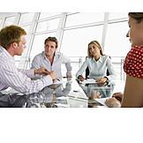 Teamarbeit, Besprechung & Unterhaltung, Meeting