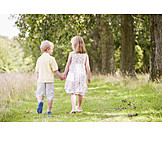 Boy, Girl, Friendship, Togetherness