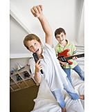 Boy, Fun & Games, Playing Music, Playback