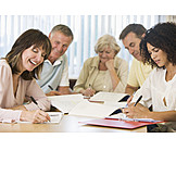 Besprechung & Unterhaltung, Seminar, Seniorenstudium