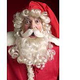 Surprised, Santa clause, Nicholas, Amazement