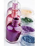 Beauty & cosmetics, Eyeshadow, Nail polish