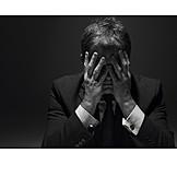 Doubts & Worry, Stress & Struggle, Businessman, Burnout