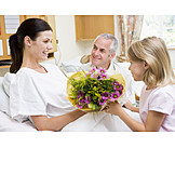 Care & Charity, Togetherness, Hospital, Visit Patient