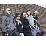 Jugendliche, Soziales, Hoffnungslosigkeit, Jugendgang