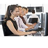 Büro & Office, Callcenter, Büroangestellte, Großraumbüro