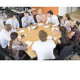 Business, Besprechung & Unterhaltung, Meeting, Arbeitskollegen