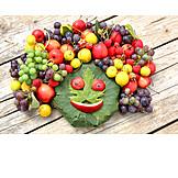 Fruit, Face, Harvest