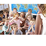 Fun & Happiness, Together, Preschool, Take Part