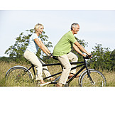Active seniors, Cyclists, Cycling, Bicycle tour