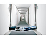 Office & workplace, Dead, Victim