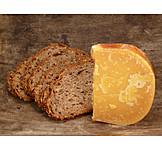 Cheese, Gouda, Cheese piece