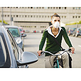 Mouthguard, Cycling Women, Particulate Load