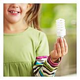 Ecologically, Energy Saving Lamp, Saving Energy