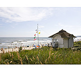 Baltic sea, Wooden house, Beach house, Baltic sea coast