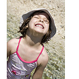 Child, Girl, Fun & happiness, Summer, Summer holidays