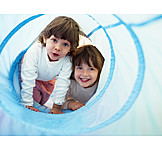 Child, Fun & Games, Game Tunnel