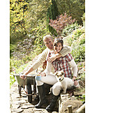 Couple, Relaxation & recreation, Gardening