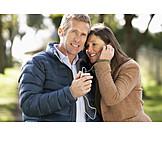 Couple, Leisure & Entertainment, Listening Music