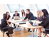 Business, Office & Workplace, Teamwork, Meeting & Conversation, Meeting, Team, Colleague