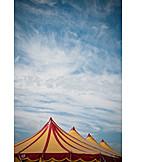 Tent, Tent roof, Circus, Cirrus, Circus tent