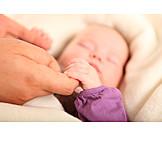Baby, Pflege & Fürsorge, Hand Halten