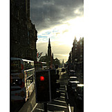 Urban life, Road traffic, Edinburgh