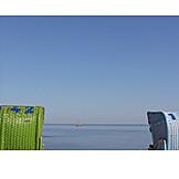 Holiday & Travel, Sea, Beach Chair