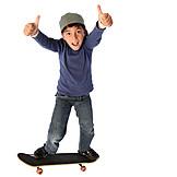 Boy, Enthusiastic, Skater