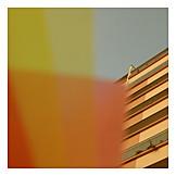 Colors & shapes, Skyscraper, Balcony