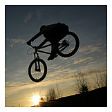 Extreme Sports, Jump, Mountain Bike, Cycling