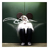 Man, Mickey mouse