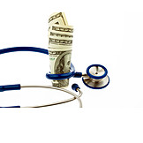 Stethoscope, Us Dollar, Health Care
