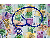 Money, Stethoscope, Health Care