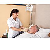 Pflege & Fürsorge, Patient, Krankenschwester