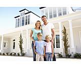 Immobilie, Familie, Eigenheim