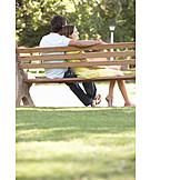 Love couple, Bench, Recreation
