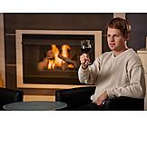 Young Man, Indulgence & Consumption, Domestic Life