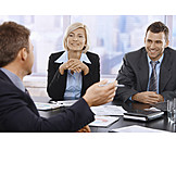 Office & Workplace, Meeting, Colleagues, Business Partnership