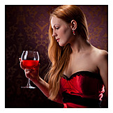 Indulgence & Consumption, Red Wine