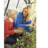 Mother, Gardening, Harvest, Daughter