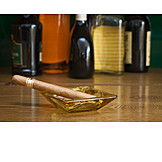 Indulgence & Consumption, Ashtray, Cigar