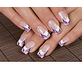 Beauty & cosmetics, Manicure, French manicure
