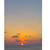 Sunset, Caribbean