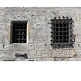 Window, Prison, Barred