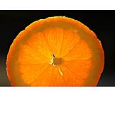 Close Up, Orange Slice