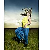 Junge Frau, Individualität & Einzigartigkeit, Fashion