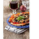 Pizza, Pizza funghi