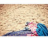 Beach, Summer, Towel, Beach holiday, Summer holidays